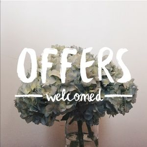 Other - Accept offers & giving discounts!!!